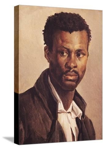 A Negro, 1823-24-Th?odore G?ricault-Stretched Canvas Print
