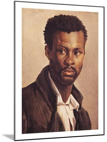 A Negro, 1823-24-Th?odore G?ricault-Mounted Giclee Print
