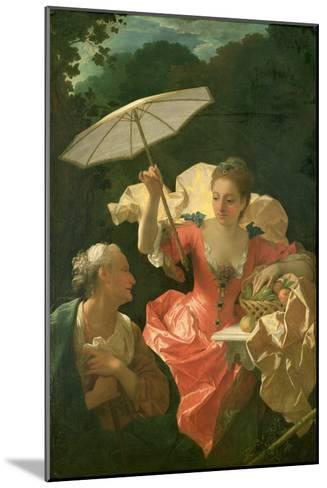 Vertumnus and Pomona-Jean Ranc-Mounted Giclee Print