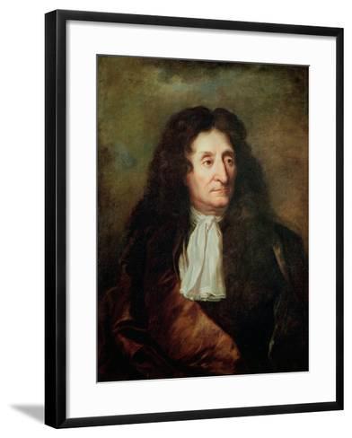 Jean de La Fontaine-Hyacinthe Rigaud-Framed Art Print