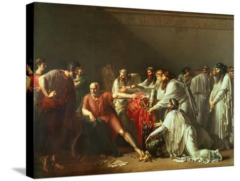 Hippocrates Refusing the Gifts of Artaxerxes I 1792-Anne-Louis Girodet de Roussy-Trioson-Stretched Canvas Print