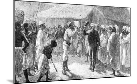 """David Livingstone from """"How I Found Livingstone"""" by Sir Henry Morton Stanley--Mounted Giclee Print"""