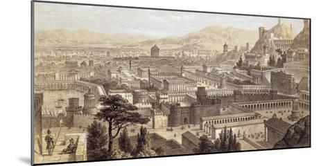 The City of Ephesus from Mount Coressus, 1859-E. Falkener-Mounted Giclee Print