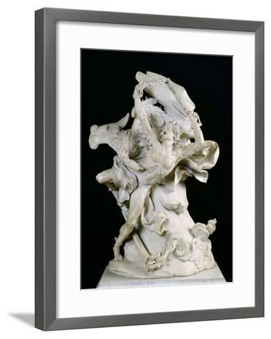 Prometheus in Chains-Nicolas Sebastien Adam-Framed Art Print