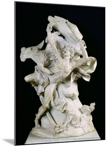 Prometheus in Chains-Nicolas Sebastien Adam-Mounted Giclee Print