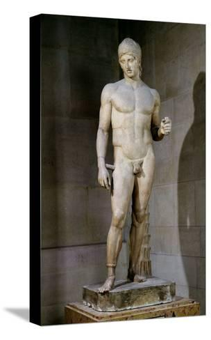 The Ares Borghese, from an Original Dating to circa 430-415 BC, 125 AD--Stretched Canvas Print
