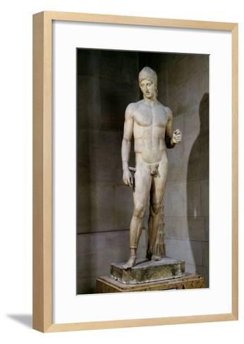 The Ares Borghese, from an Original Dating to circa 430-415 BC, 125 AD--Framed Art Print
