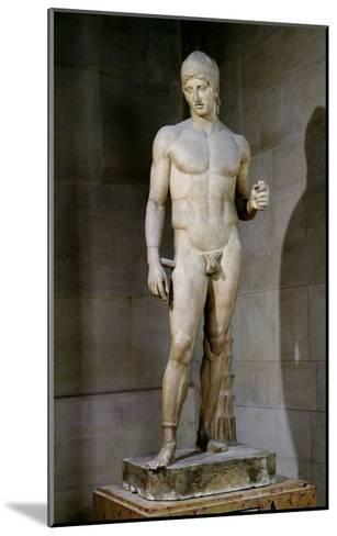 The Ares Borghese, from an Original Dating to circa 430-415 BC, 125 AD--Mounted Giclee Print