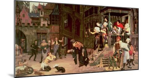 The Return of the Prodigal Son, 1862-James Tissot-Mounted Giclee Print
