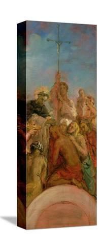 St. Francis Xavier-Theodore Chasseriau-Stretched Canvas Print
