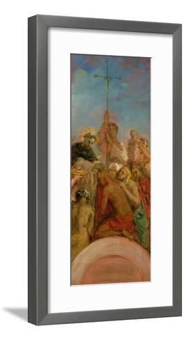 St. Francis Xavier-Theodore Chasseriau-Framed Art Print