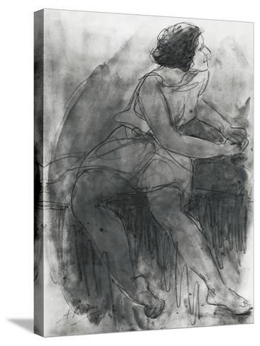 Isadora Duncan-Auguste Rodin-Stretched Canvas Print