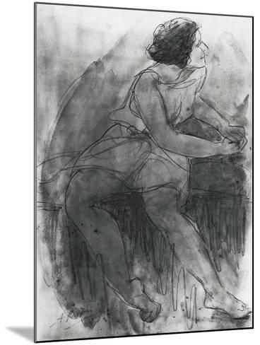 Isadora Duncan-Auguste Rodin-Mounted Giclee Print