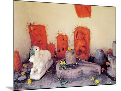 A Shrine of a Chapel on the Ganges--Mounted Giclee Print