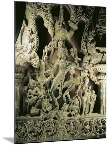 Lintel with Shiva Nataraja, Kakatiya Dynasty--Mounted Giclee Print