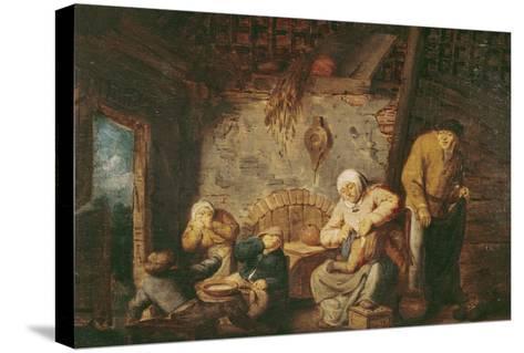 The Toilet-Adriaen Jansz^ Van Ostade-Stretched Canvas Print