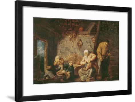 The Toilet-Adriaen Jansz^ Van Ostade-Framed Art Print