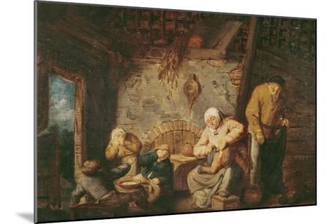 The Toilet-Adriaen Jansz^ Van Ostade-Mounted Giclee Print