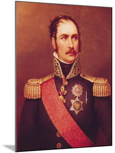 Portrait of Prince Eugene de Beauharnais Viceroy of Italy and Duke of Leuchtenberg-Jacques-Louis David-Mounted Giclee Print