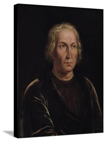 Portrait of Christopher Columbus--Stretched Canvas Print