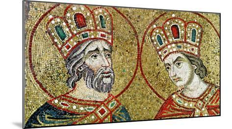 Constantine the Great and St. Helena--Mounted Giclee Print