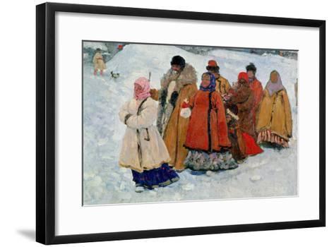 A Family, 1909-Sergej Vasilevic Ivanov-Framed Art Print
