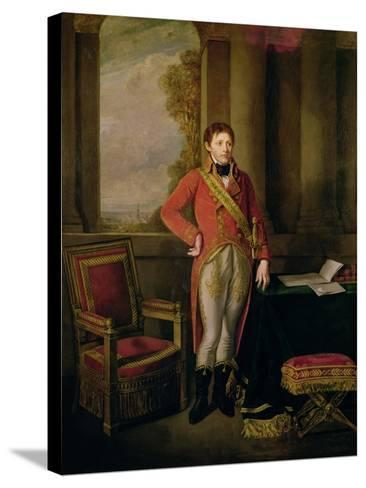 Napoleon Bonaparte as First Consul, 1799-1805-Jean-Baptiste Greuze-Stretched Canvas Print