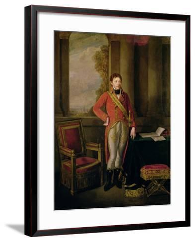 Napoleon Bonaparte as First Consul, 1799-1805-Jean-Baptiste Greuze-Framed Art Print