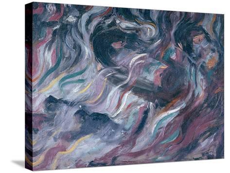 Uncertainties I, The Farewells 1911-Umberto Boccioni-Stretched Canvas Print