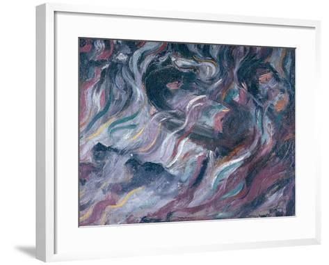 Uncertainties I, The Farewells 1911-Umberto Boccioni-Framed Art Print