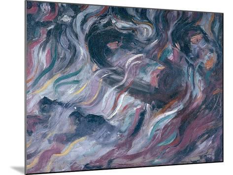 Uncertainties I, The Farewells 1911-Umberto Boccioni-Mounted Giclee Print