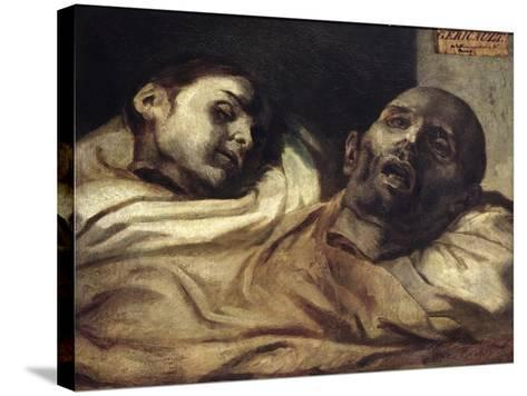 Heads of Torture Victims, Study for the Raft of the Medusa-Th?odore G?ricault-Stretched Canvas Print