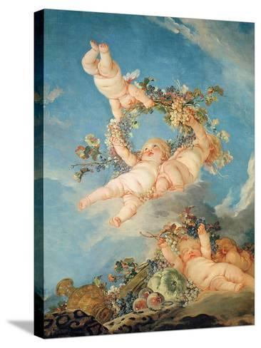 Autumn, from a Series of the Four Seasons in the Salle Du Conseil-Francois Boucher-Stretched Canvas Print