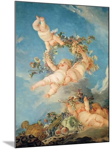 Autumn, from a Series of the Four Seasons in the Salle Du Conseil-Francois Boucher-Mounted Giclee Print