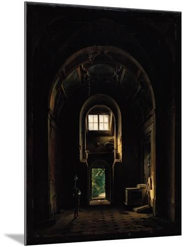 Interior of the Chapel of Saint-Philippe in the Eglise des Feuillants in Paris, 1814-Louis Jacques Mande Daguerre-Mounted Giclee Print