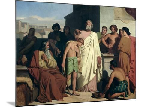 Annointing of David by Saul, 1842-Felix-Joseph Barrias-Mounted Giclee Print