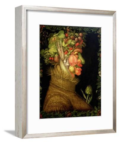Summer, 1573-Giuseppe Arcimboldo-Framed Art Print