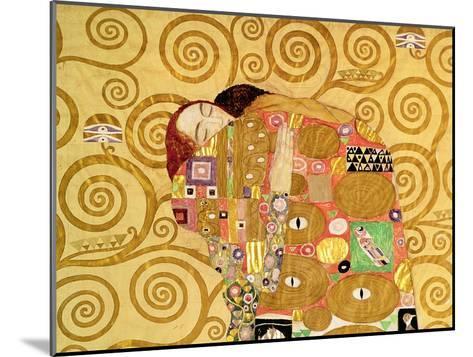 Fulfillment, Stoclet Frieze, c.1909 (detail)-Gustav Klimt-Mounted Giclee Print