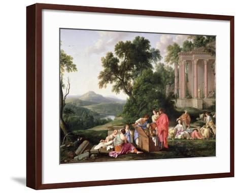 Laban Searching for the Idols, 1647-Laurent de La Hyre-Framed Art Print