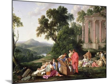 Laban Searching for the Idols, 1647-Laurent de La Hyre-Mounted Giclee Print