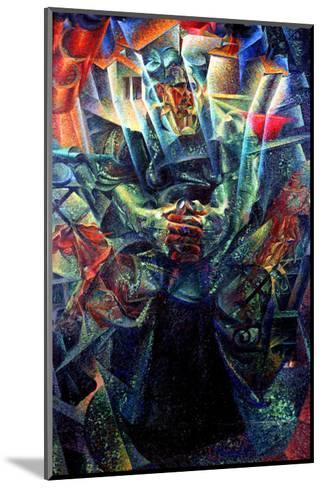 Materia, 1912-Umberto Boccioni-Mounted Giclee Print