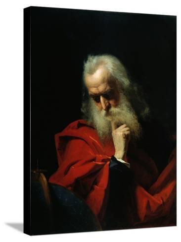 Galileo Galilei, 1858-Ivan Petrovich Keler-viliandi-Stretched Canvas Print