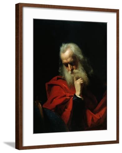 Galileo Galilei, 1858-Ivan Petrovich Keler-viliandi-Framed Art Print