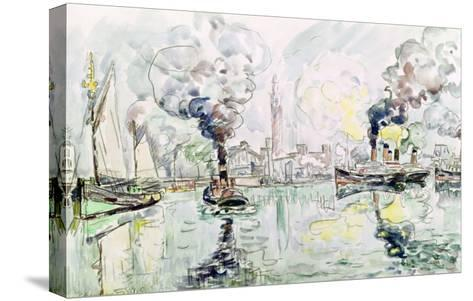 Cherbourg, 1931-Paul Signac-Stretched Canvas Print