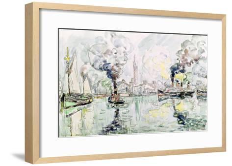 Cherbourg, 1931-Paul Signac-Framed Art Print