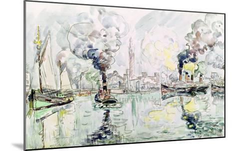 Cherbourg, 1931-Paul Signac-Mounted Giclee Print