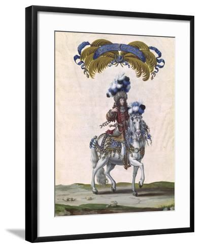 The Prince of Conde as the Emperor of Turkey-Israel Silvestre The Younger-Framed Art Print