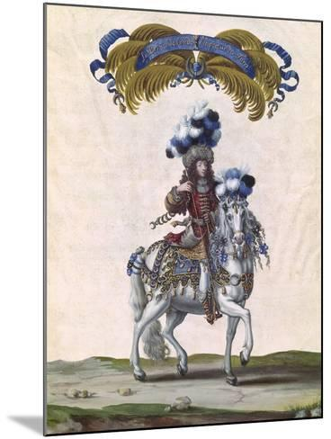 The Prince of Conde as the Emperor of Turkey-Israel Silvestre The Younger-Mounted Giclee Print