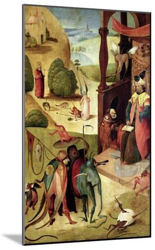 St.James and the Magician-Hieronymus Bosch-Mounted Giclee Print