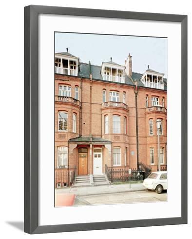 Oscar Wilde's House in Tite Street, Chelsea--Framed Art Print